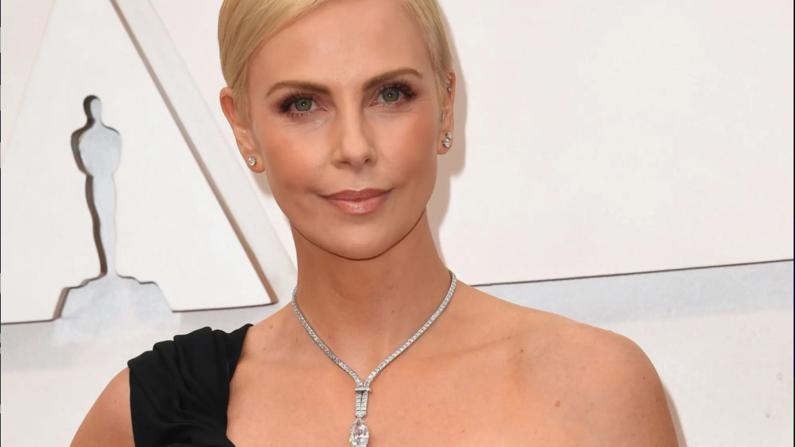 Charlize Theron collar